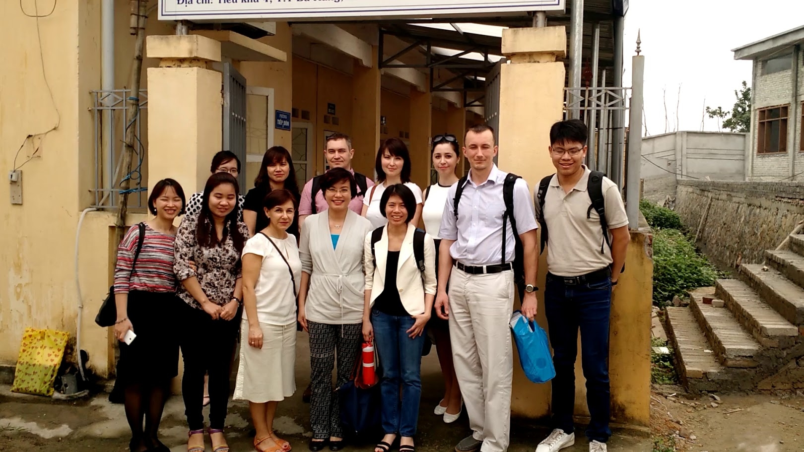 "The research team of the Institute visited the Vietnamese site of the project ""HPTN 074"""