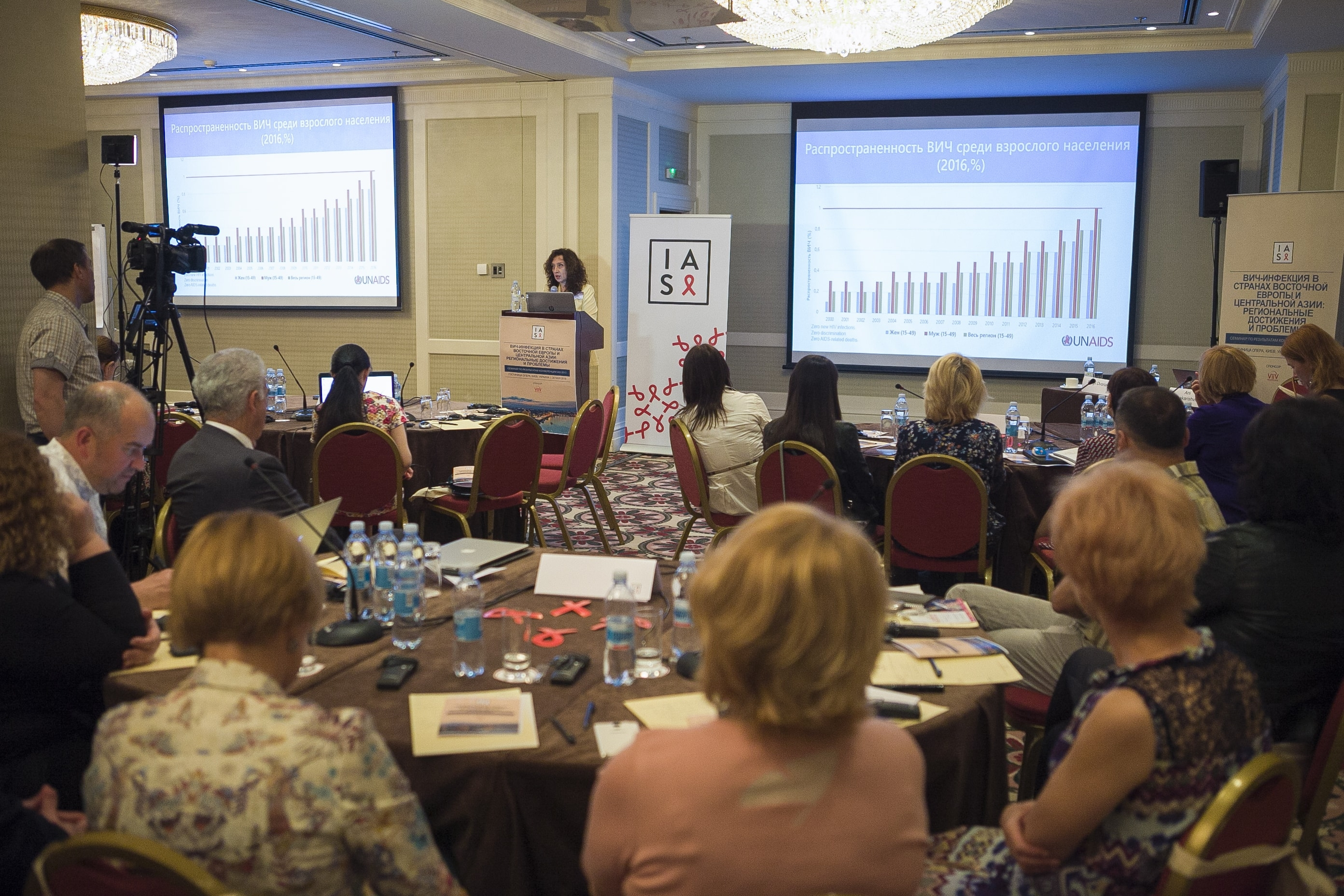 "IAS 2017 Post-Conference Workshop ""HIV in Eastern Europe and Central Asia: Regional achievements and challenges"""
